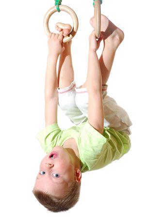陽気な幼年期 写真素材