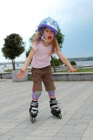 blading: screaming roller- first try