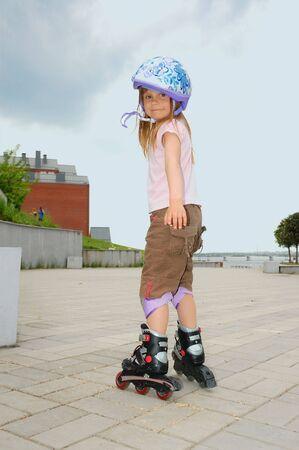 rollerblading: rollerblading Stock Photo