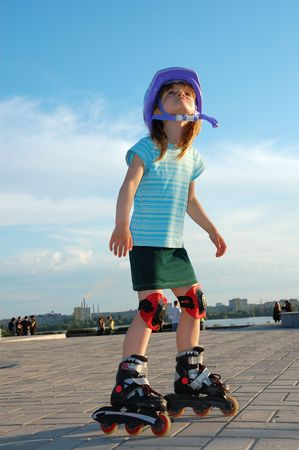 rollerblading: patinar