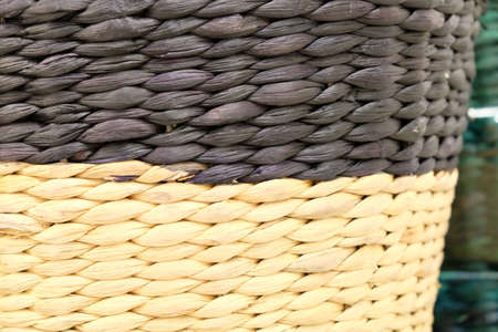 wickerwork: wicker  basketry wickerwork baskets rattan black