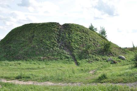 ladoga: Historic Memorial in Ladoga Stock Photo
