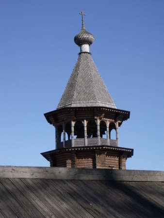 russian wooden architecture Stock Photo