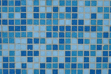 blue background from mosaic photo