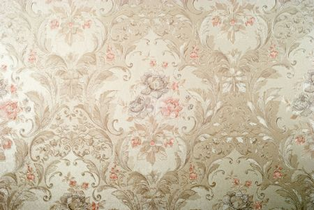 vintage decorative background with floral pattern Stock Photo