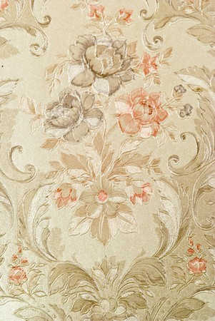 vintage decorative background with floral pattern Stock Photo - 3992325