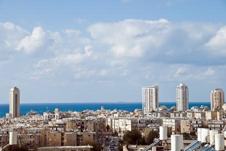 yam israel:  landscape of Bat Yam (Israel)