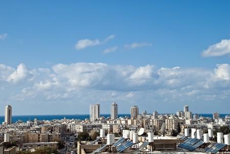 yam israel: cityscape of Bat Yam (Israel) Stock Photo