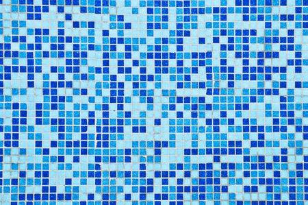 blauwe achtergrond van mozaïek