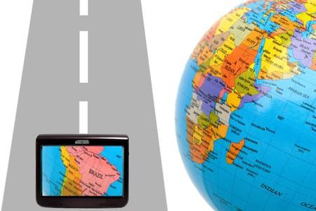 waypoint: abstract illustration of navigator system