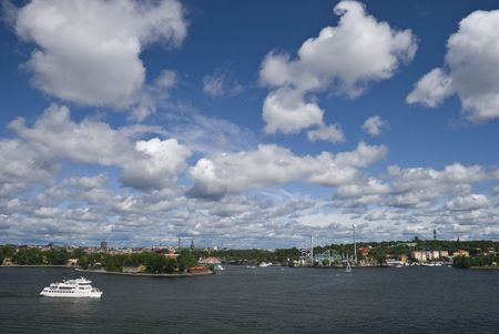 view of stockholm cityscape photo