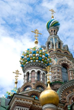 church on the Spilled Blood. St. Petersburg Stock Photo - 5509180