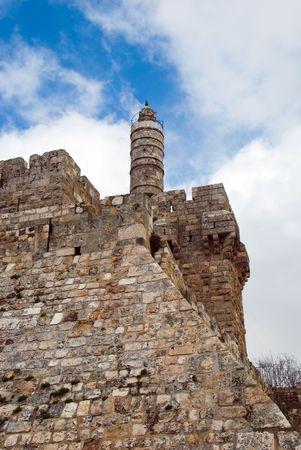 David tower - The Old City Jerusalem  photo