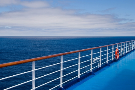 Promenade deck on a cruise ship Stock Photo - 7704240