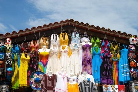 turism: Market place at Puerto Vallarta, Mexico