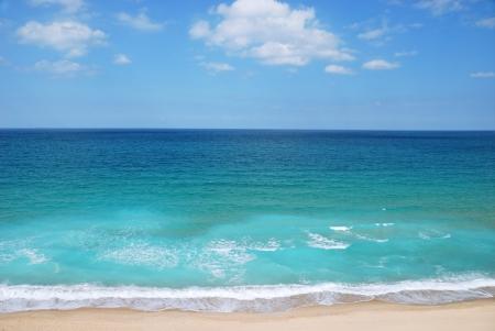 view of Mediterranean sea in Israel