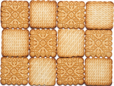 sweet ornate biscuits background photo