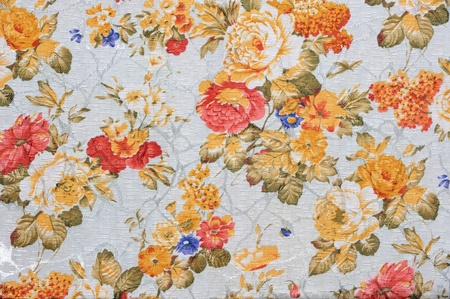 vintage decorative background with floral pattern Stockfoto
