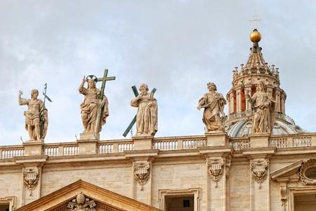una parte della Basilica di San Pietro in Vaticano, Roma, Italia