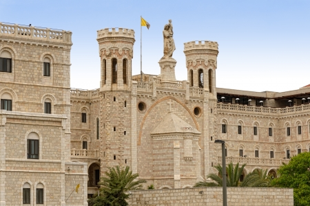institute is holy: The Notre Dame of Jerusalem Center, Israel
