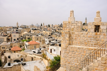 Israel, Jerusalem, Old City, Muslim quarter, fragment of Wall Stock Photo - 13909950
