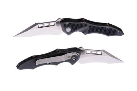 sharp pocketknife on a white background Stock Photo - 14386504