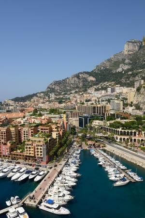 view of marina in Monte Carlo, Monaco