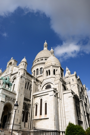 Sacre-Coeur Basilica, Montmartre, Paris photo