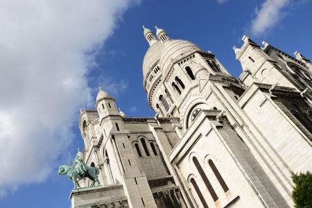 Sacre-Coeur Basilica, Montmartre, Paris Stock Photo - 15764744