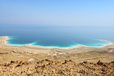 view of Dead Sea, Israel Stock Photo - 17163083