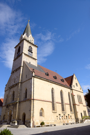 companions: St. Cantianius and Companions Parish Church, built in the 14th century, Kranj, Slovenia.