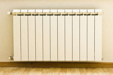 Heating system in apartment of a new building photo