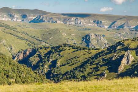 View of the valley of the canyon of Kabardino-Balkaria, Russia