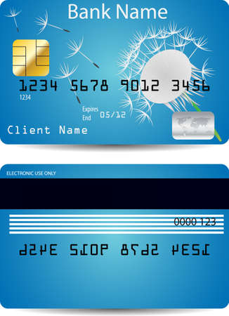 credit card  Stock Vector - 12162200