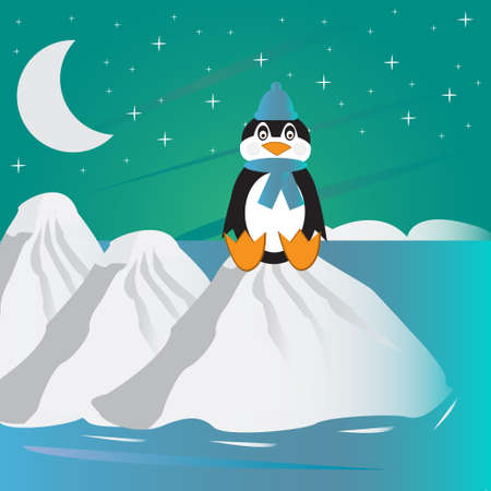 pinguin: lonely pinguin