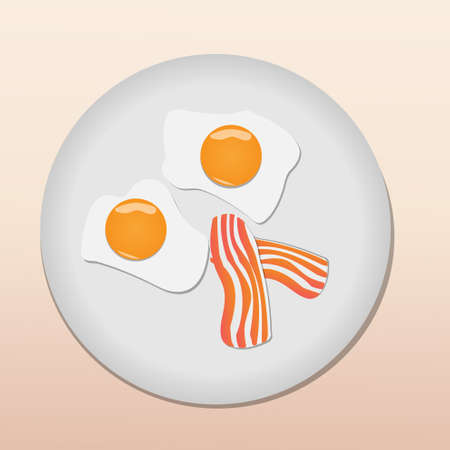 Fried eggs Stock Vector - 12162201