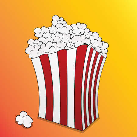 cinematograph: popcorn box