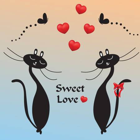 Sweet love Vector