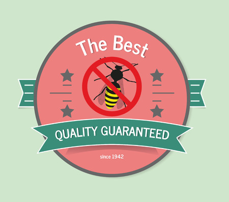 insect repellent bee icon logo