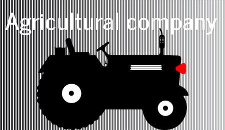 logo tractor agricultural company farmer