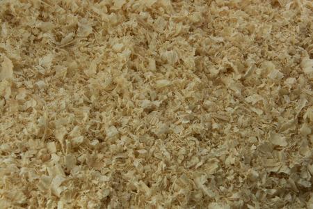 regularity: background from fresh wooden shavings filled полнотью Stock Photo