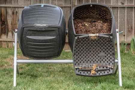 Composting in progress