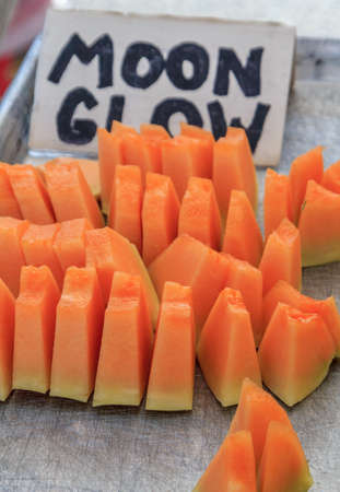 Cantaloupe samples