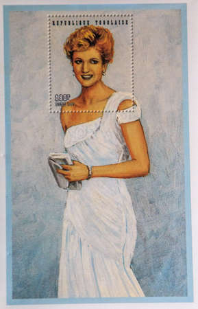 postage: Princess Diana Postage stamp