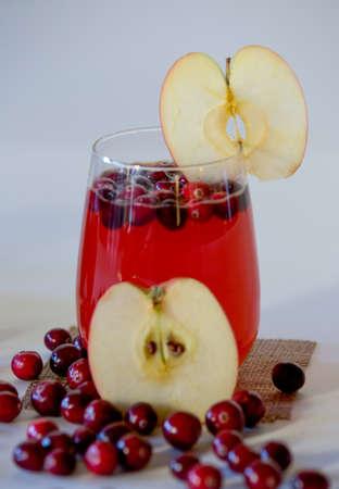 juicing: Cranberry Apple juice