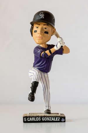 Carlos Gonzalez Bobblehead doll