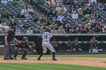 homeplate: Baseball player  Charlie Blackmon