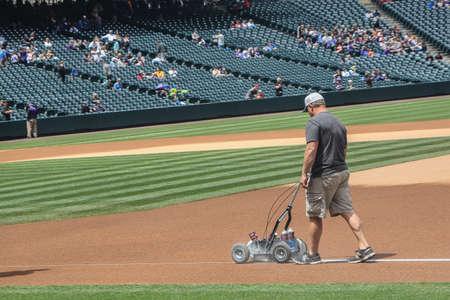 groundskeeper: Baseball Groundskeeper Editorial
