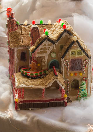 molly: Gingerbread house