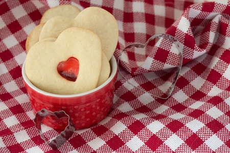 Valentines day cookies Stock fotó - 73338378